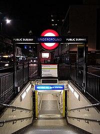 Entrance of Notting Hill gate station.jpg