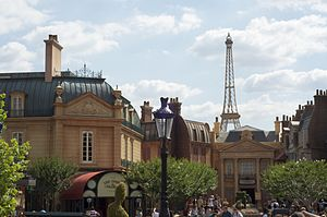 France Pavilion at Epcot - Image: Epcot France pavilion by ckramer