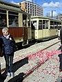 Eröffnung der Rottecklinie der Freiburger Stadtbahn, Oldtimer der Freunde der Freiburger Straßenbahn.jpg