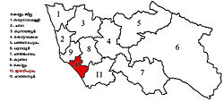 Eravipuram constituency in Kollam district