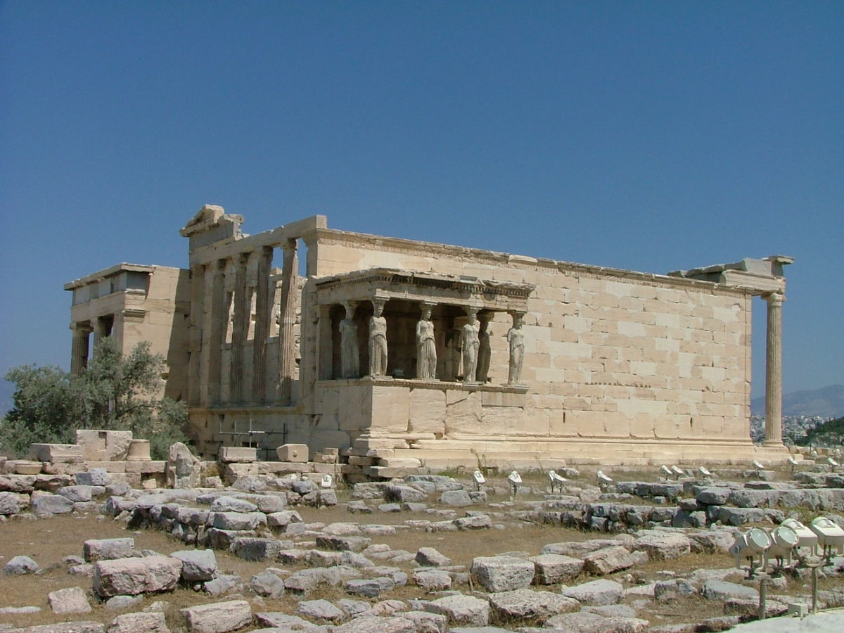 Oude athenatempel wikipedia - Oude griekse decoratie ...