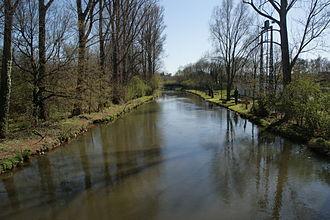 Rhein-Erft-Kreis - Image: Erft in Bergheim