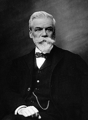 Solvay Brussels School of Economics and Management - Ernest Solvay, the school's founder and namesake