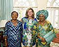 Ernestina Mills, Katie O'Malley and Patience Jonathan.jpg