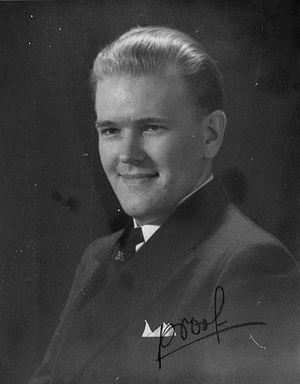 Ernst Jaakson - Image: Ernst Jaakson (1905 1998), ERM Fk 2731 56