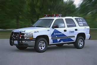 Toronto Paramedic Services - Former Emergency Response Unit