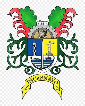 Pacasmayo - Image: Escudodepacasmayo