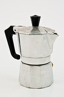 Moka pot type of coffeemaker
