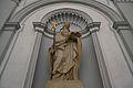 Estàtua de sant Isidor de Sevilla, capella de la Sapiència.JPG