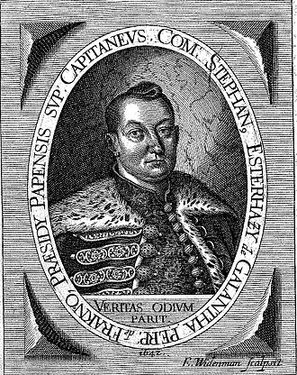 István Esterházy (1616–1641) - Image: Esterhazy Istvan