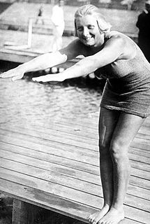 Ethelda Bleibtrey American swimmer, Olympic gold medalist, former world record-holder