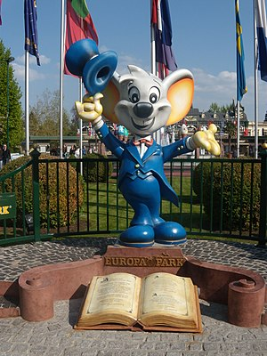 Europa-Park - Ed Euromaus, the park mascot developed by MackMedia, had 4D films based on his character in 2011 and 2015.