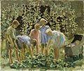 Evacuees Growing Cabbages (Art.IWM ART.LD 428) (1940).jpg
