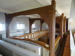 Evangelische Kirche Trais-Horloff Empore 02.JPG