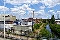 Evere - Region Bruxelloise - Industriegebiet - Kanal der Zenne - Elia - Bruxelles Energie - 1010833.jpg