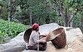 Everyday work of Sherpa woman IMG 4723.jpg