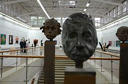 Exhibition Belarusian Sculpture XXI in Palace of Art 20.05.2014 05.jpg