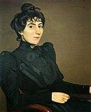 Félix Vallotton, 1898 - Portrait de l'actrice Marthe Mellot.jpg