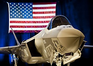 English: The first F-35 Lightning II joint str...