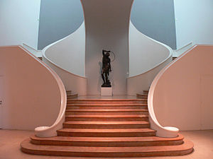 Museum of Fine Arts of Nancy - Staircase of the extension from the 1930s