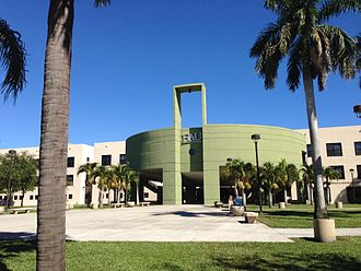 Florida Atlantic University - Florida Atlantic University's Social Science Building, Boca Raton campus