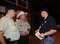 FEMA - 37891 - FEMA and Texas Forest Service workers meet in a Texas warehouse.jpg