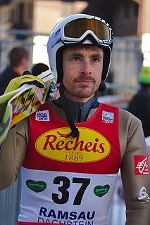 François Braud French Nordic combined skier