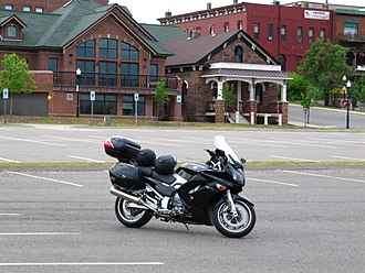 Sport touring motorcycle - Yamaha FJR1300A