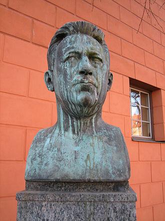 Fabian Månsson - Bust of Fabian Månsson in Stockholm