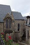 Face sud de l'église Saint-Pierre (Le Mont-Saint-Michel, Manche, France).jpg