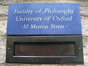 Faculty of Philosophy, University of Oxford.jpg