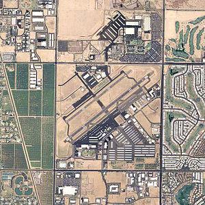 Falcon Field (Arizona) - USGS 2006 orthophoto