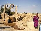 Faryab- village dug well