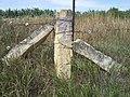 Fencepost limestone Corner post 20150718.jpg