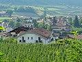 Ferienwohnungen Gamper, Prissian, Jakobsweg zwischen Meran und Bozen, Trentino, Südtirol, Italien - panoramio.jpg