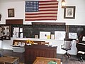 Ferndale CA Fairgrounds Centerville School Museum Interior.JPG