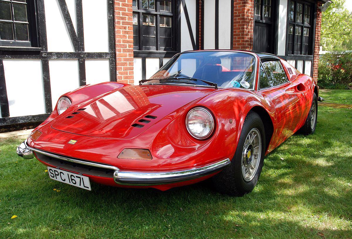 Fiat 500 Sport >> Dino 246 GT/GTS — Wikipédia