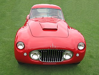 Fiat 8V - First style headlights