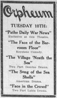 <i>The Village Neath the Sea</i> 1914 film by Thomas H. Ince, Jay Hunt