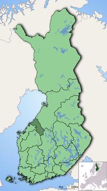 Central Ostrobothnia Simple English Wikipedia The Free