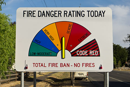Total Fire Ban Mallee and Riverland Today
