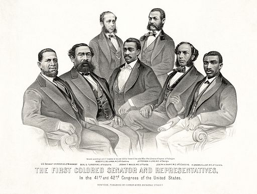 First Colored Senator and Representatives
