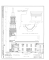 First Congregational Society Church, Pearl Street and Elmwood Avenue, Burlington, Chittenden County, VT HABS VT,4-BURL,1- (sheet 3 of 6).png