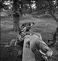 First US Army Rehabilitation Centre- Recuperation and Training at 8th Convalescent Hospital, Stoneleigh Park, Kenilworth, Warwickshire, UK, 1943 D16614.jpg