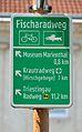 Fischaradweg sign, Marienthal.jpg