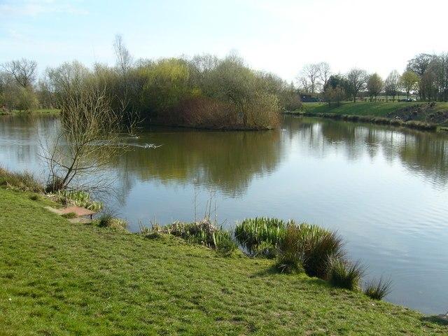 Fishing Pond - geograph.org.uk - 391512