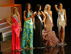 Miss Universe 2006 - Top 5 at Miss Universe 2006