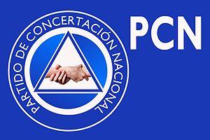 National Coalition Party (El Salvador) - Image: Flag PCN
