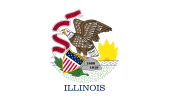 Flag of Illinois (June 27, 1969)