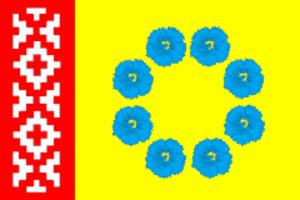 Pestyakovsky District - Image: Flag of Pestyakovsky rayon (Ivanovo oblast)